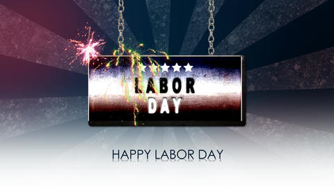 labor day Animation