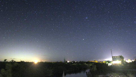 Stars Time Lapse Footage