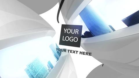 Light & Dark Spheres Logo After Effectsテンプレート