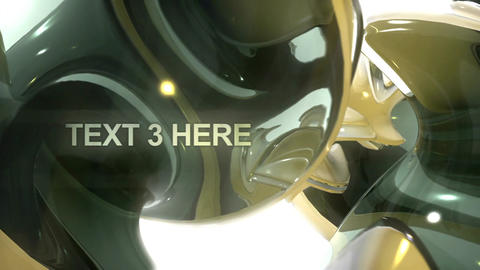 Futuristic Titles After Effects Template