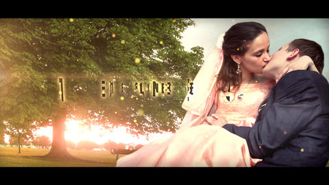 Wedding Trailer After Effects Template