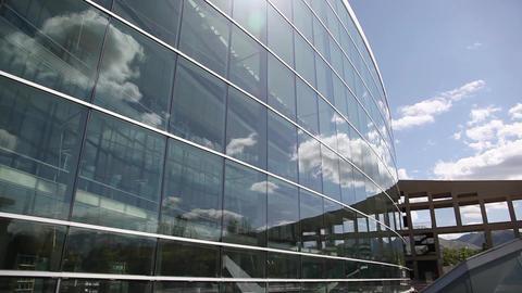 Salt Lake City library tilt up Live Action