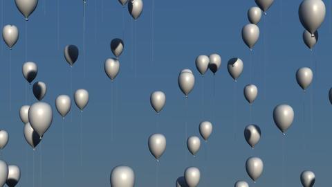 White Balloons Animation