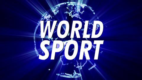 4K Shining Globe World Sport 3 Animation