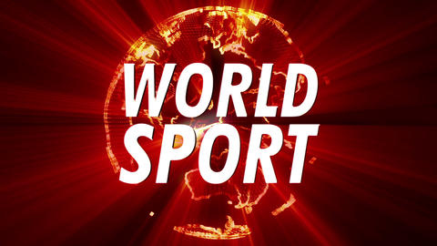 4K Shining Globe World Sport 1 Animation