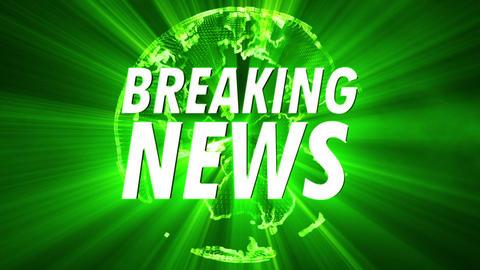 Shining Globe Breaking News 2 Animation