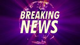 Shining Globe Breaking News 4 Animation