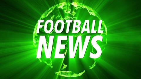 Shining Globe Football News 2 Animation