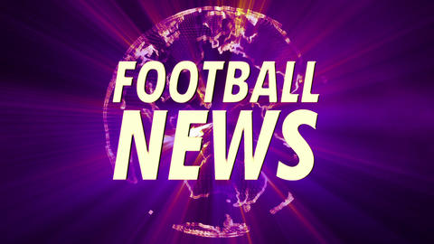 Shining Globe Football News 4 Animation