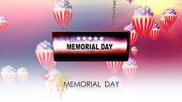 memorial day Animation