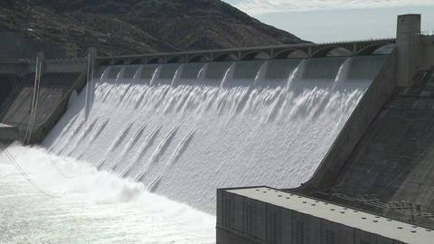 Grand Coulee Hydroelectric Dam 02 Footage