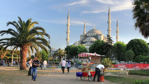 People enjoy themselves at Sultanahmet Square Footage