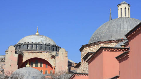 Hagia Sophia and Haseki Hamami Footage