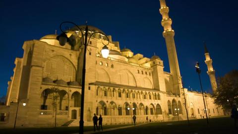 Suleymaniye Mosque, Istanbul Footage