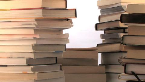 Lotsa Books stock footage