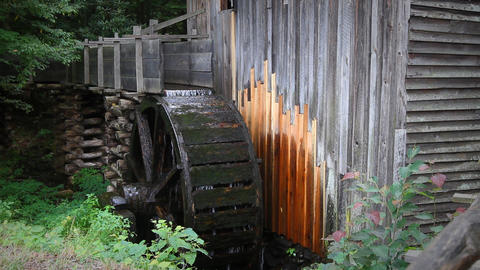 Traditional Watermill Footage