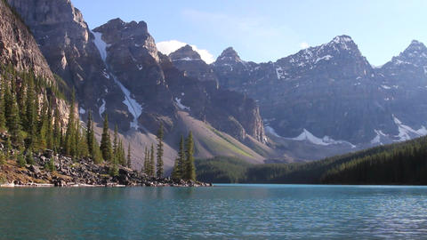Moraine Lake Banff h 05 Footage