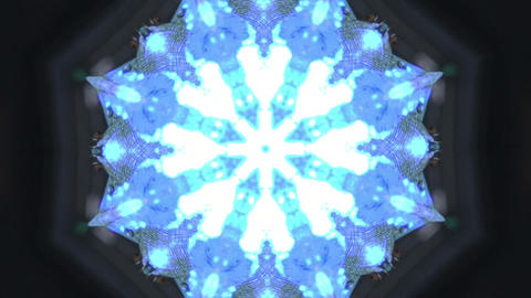 Blue Background Vj Loop stock footage