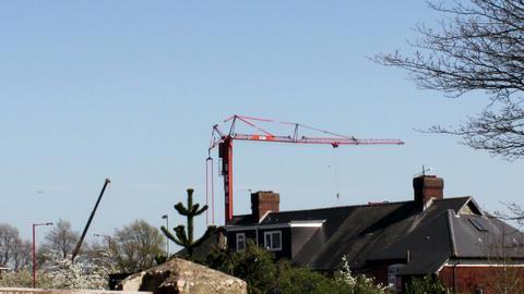 Tower crane movement Live Action