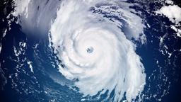 4K Hurricane Animation Stock Video Footage