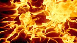 Fire Background stock footage
