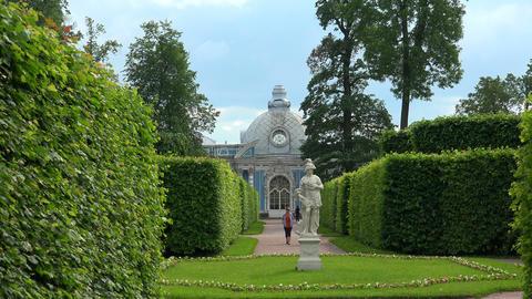 Grotto. Pushkin. Catherine Park. Tsarskoye Selo. 4 Footage