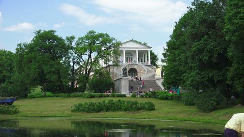 Cameron gallery. Pushkin. Catherine Park. Tsarskoy Footage