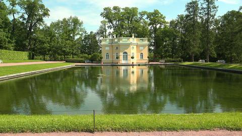 Upper bathhouse. Pushkin. Catherine Park. Tsarskoy Footage