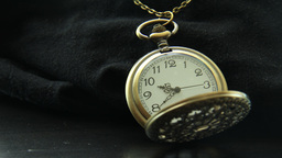 Pocket Watch Time Lapse Ungraded stock footage