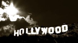 Hollywood Sign Time-lapse 2 Classic Footage