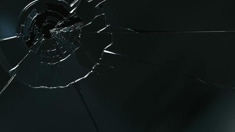 Broken Glass stock footage