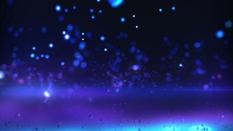 Falling Defocus background Animation