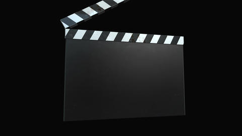 Clapperboard Film - Four Animations+Alpha Animation