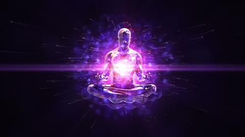 Meditation loopable background Animation