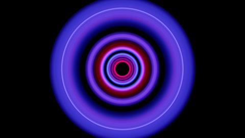 4 K VJ loop circle 02 Footage