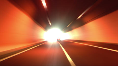 4 K Tunnel Abstract Speed 04 stock footage