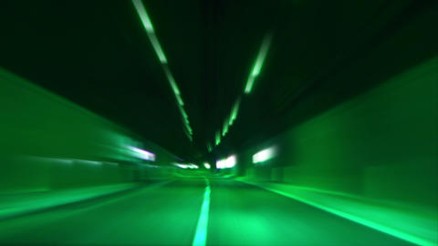 4 K tunnel abstract speed 26 Footage