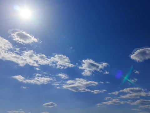 Sun In The Sky. Time Lapse. 640x480 stock footage