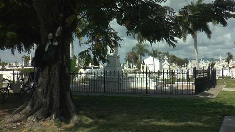 historic cemetery santa ifigenia,santiago de cuba Footage
