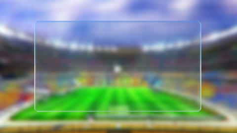 soccer match table news dissolve Animation