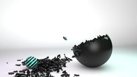 crushing ball Animation