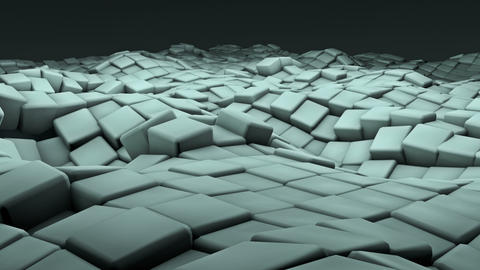 Ocean Cubes Animation