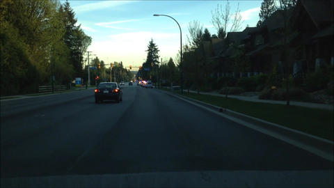 Passing police cars stop a suspicious vehicle Footage