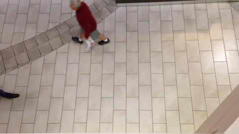 People walking inside mall Footage
