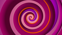 Spinning spirals. B Animation