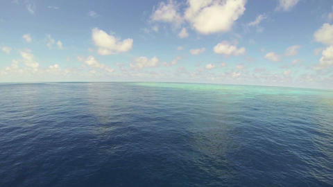 太平洋の青い海と青い空 Footage