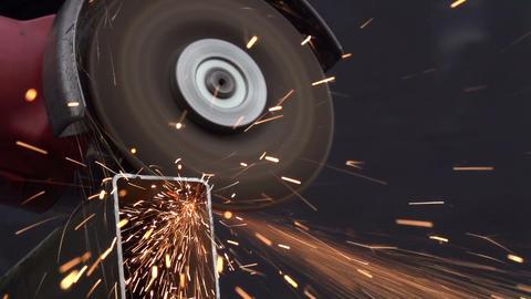 Metal Cutting Footage
