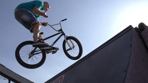 Trick Cycling Footage