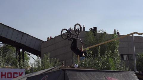Flip on the Bike HD Footage
