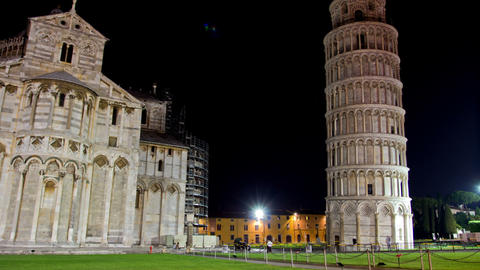 PISA, ITALY - 3 JUNE 2014: Piazza Dei Miracoli. Ni stock footage